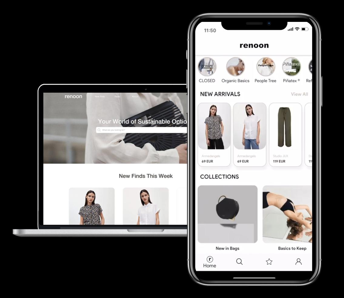 Sustainable Fashion App