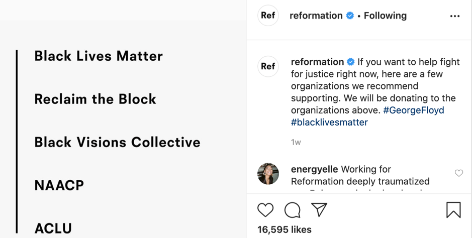 Here's what's happening to Reformation