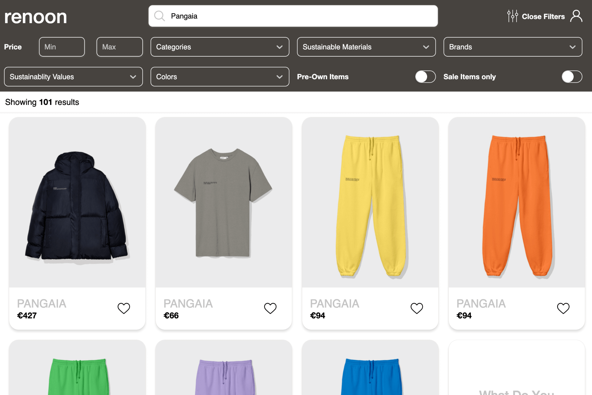 Where to find Pangaia's sustainable must-have outfit?