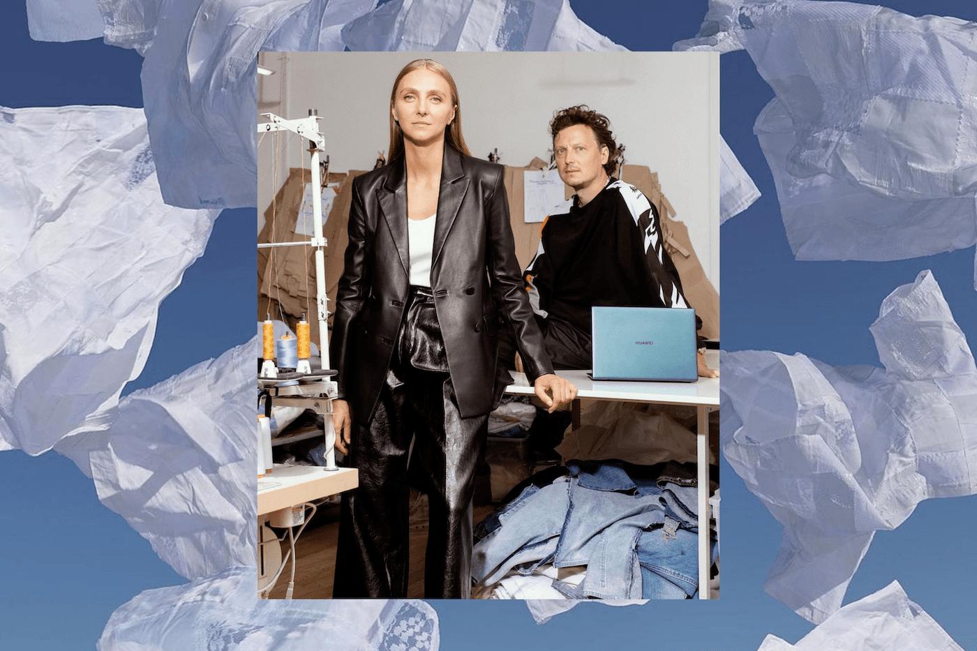 Ksenia Schnaider - upcycling fashion designer