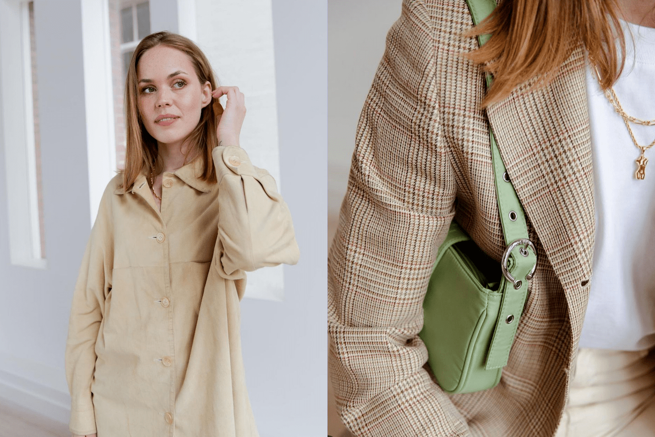 Breaking the fashion cycle by buying vintage