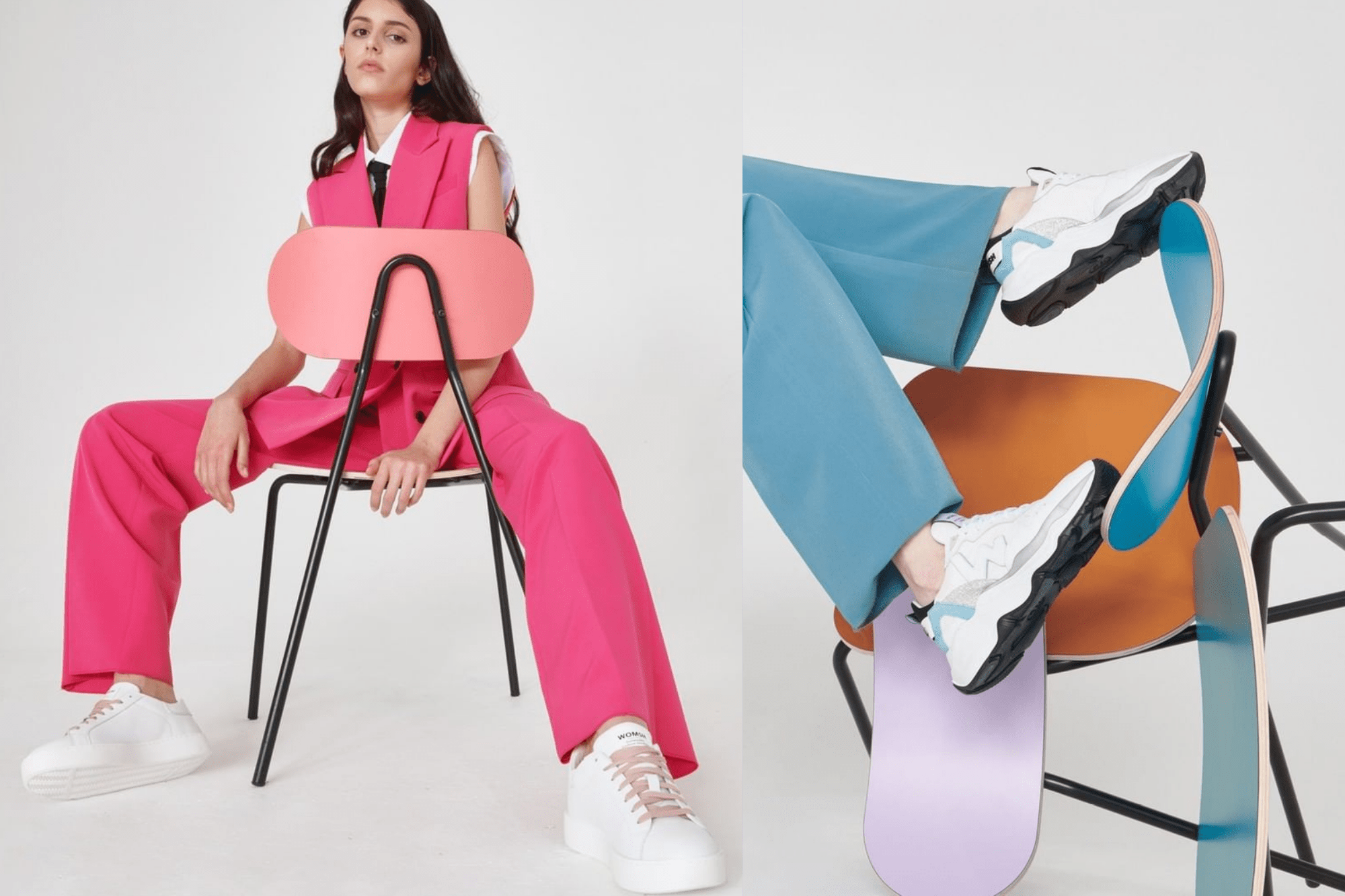 Sneakers: innovation and sustainability according to WOMSH's founder